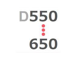 D550-650