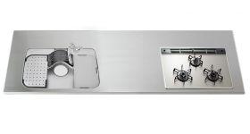 ステンレスワークトップGQGBK D700~850 W1050~3850mm