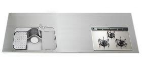 ステンレスワークトップGQGBK D851~900 W1050~3850mm