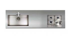 ステンレスワークトップGQJS15L D700~850 W1050~3850mm