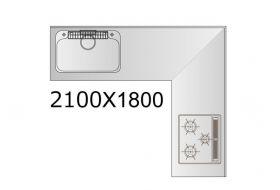 L型規格タイプ HOU-210X180