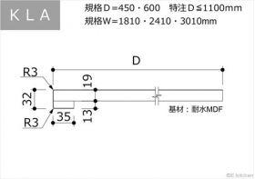 KLA:D600:Ⅰ型・汎用・バックガード無