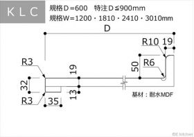 KLC:D=650:Ⅰ型・汎用・バックガード付