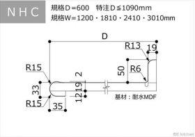 NHC:D=600:Ⅰ型・汎用・バックガード付