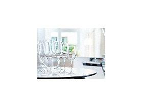 理想的なグラスケア 優しくケア: 革新的な技術により、ワイングラスを優しく洗浄。