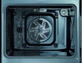 調理後の庫内の汚れを高温(500℃)で焼き切るセルフクリー ニング機能。お掃除が簡単にできます。 Oven 590以上 590 530以上 560min 5
