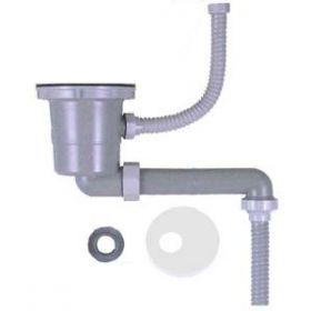 浅型(短尺)排水部品S-MPOAヨコ311(ポケットシンク対応)(ジャバラ)