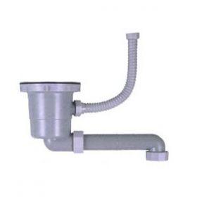 浅型(短尺)排水部品S-MPOBヨコ311(ポケットシンク対応)(直管)